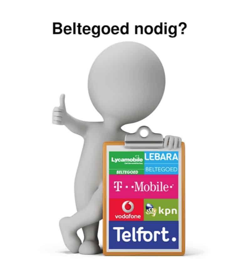 Beltegoed nodig van Lebara! Natuurlijk bij Top06.nl